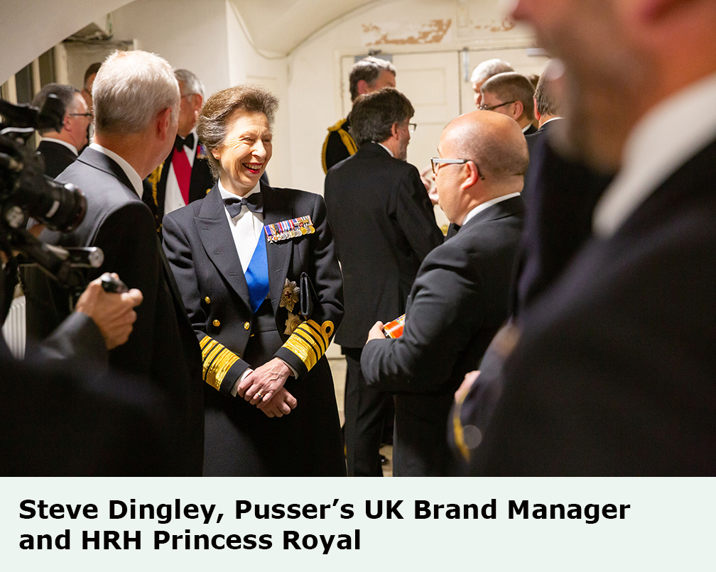 Pusser?s Rum Commitment And Ties To The Royal Navy Validated At Commem photo