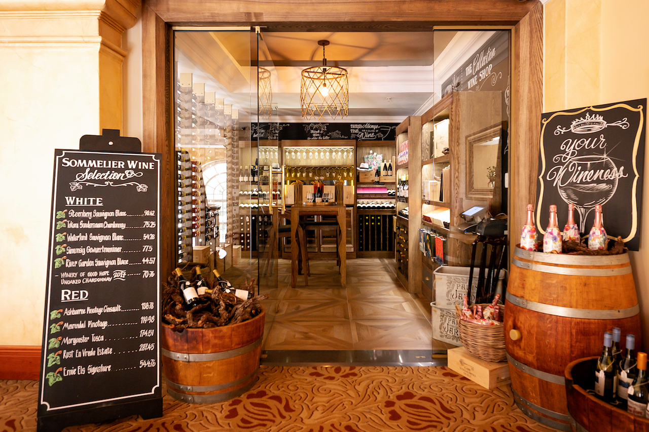 Tsogo Sun Hotels launches two new wine concept stores at The Cullinan and Southern Sun Waterfront photo