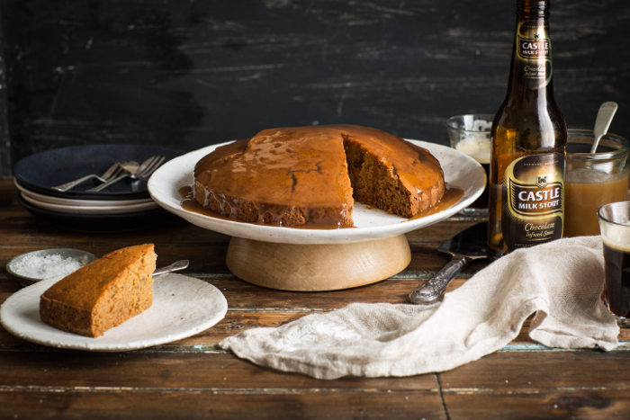 This Triple Ginger & Castle Milk Stout Cake Screams Christmas [recipe] photo