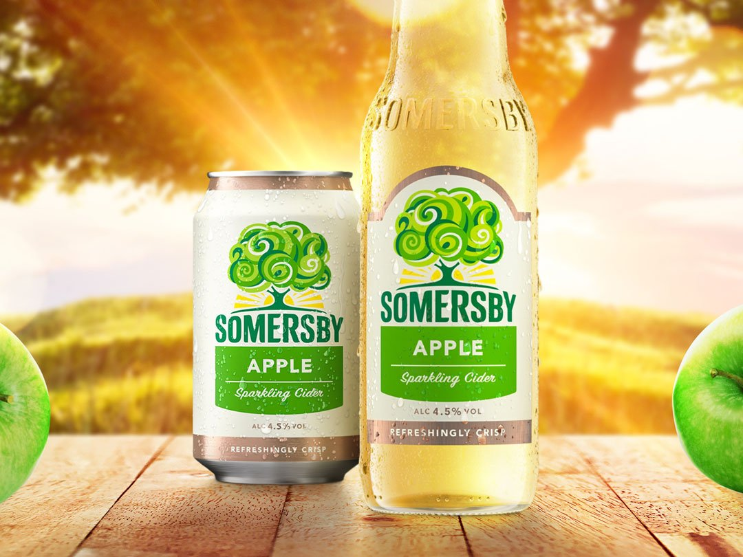 Carlsberg Reveals 'refreshingly Optimistic' Branding For Somersby photo