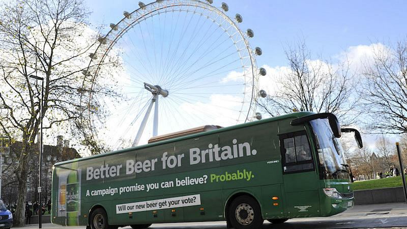 Carlsberg Launches ?better Beer For Britain? Campaign photo