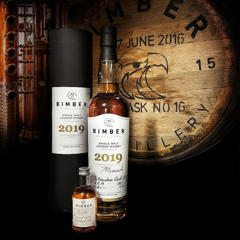Bimber Distillery Presents First Founder's Series Single Malt Whisky photo