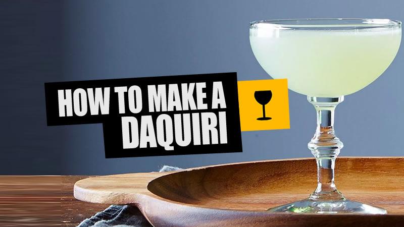 How To Mix A Classic Daquiri photo