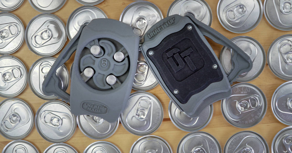 This New Gadget Will Turn Your Beer Cans Into Glasses In Seconds photo