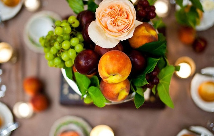 4 Edible Table Decorations To Brighten Up Your Lunch Table photo