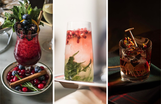 9 Holiday Cocktail Recipes From Nyc?s Best New ? And Classic ? Restaurants photo