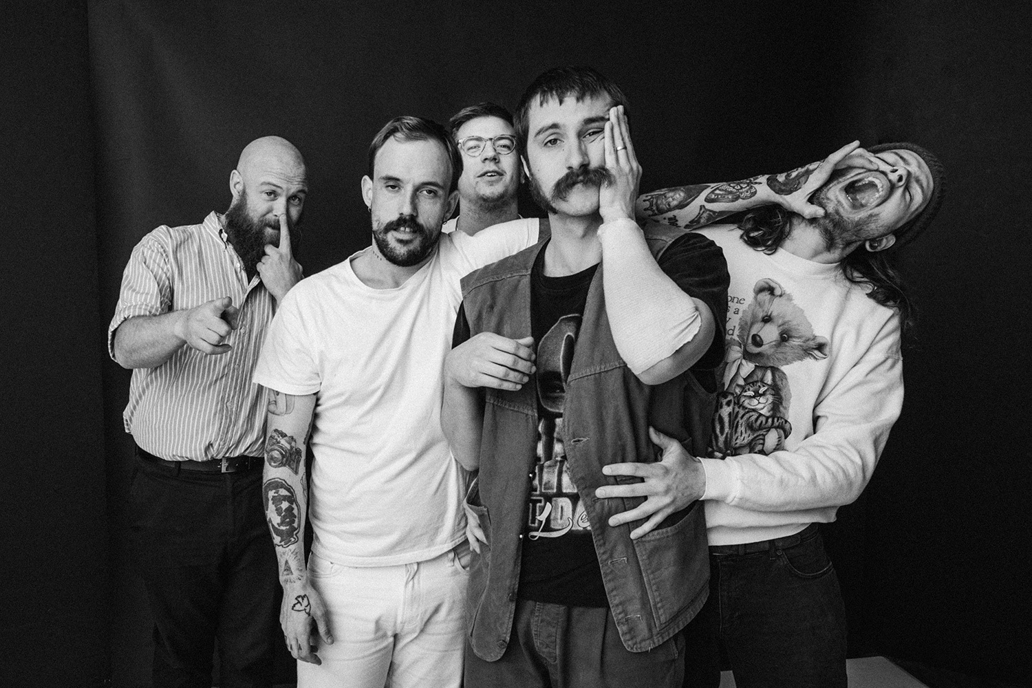 Idles Have Teamed Up With Signature Brew For New Beer, Krfsht photo