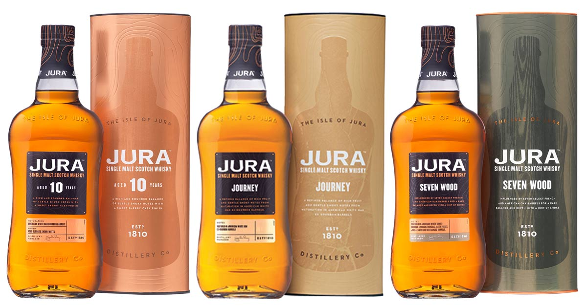 3 Expressions Of Jura Scotch Whisky photo