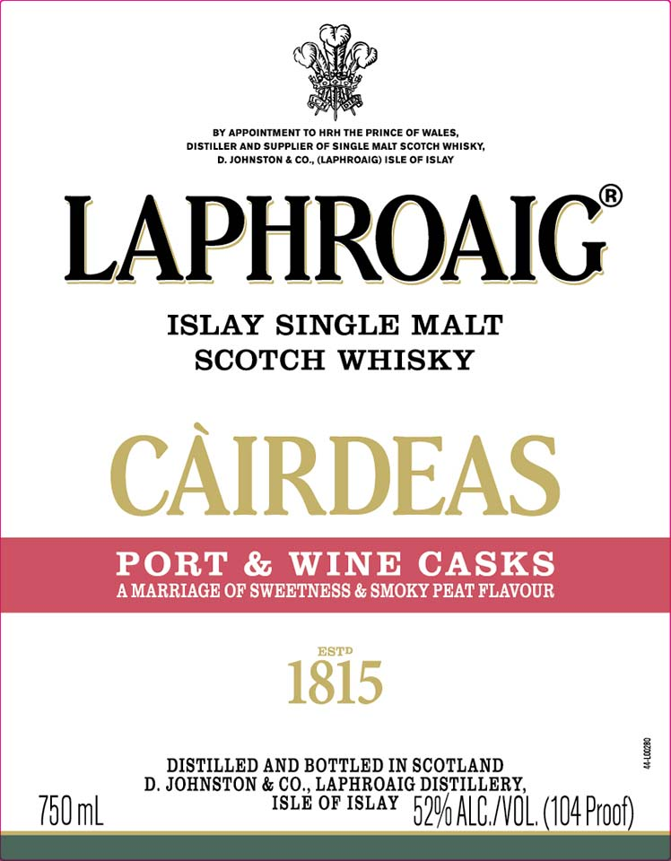Laphroaig Cairdeas Port & Wine Casks Arriving In 2020 photo