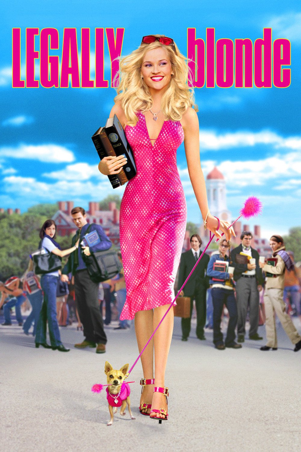 legally blonde Iconic Chick Flicks To Stream At Home With A Glass Of Wine