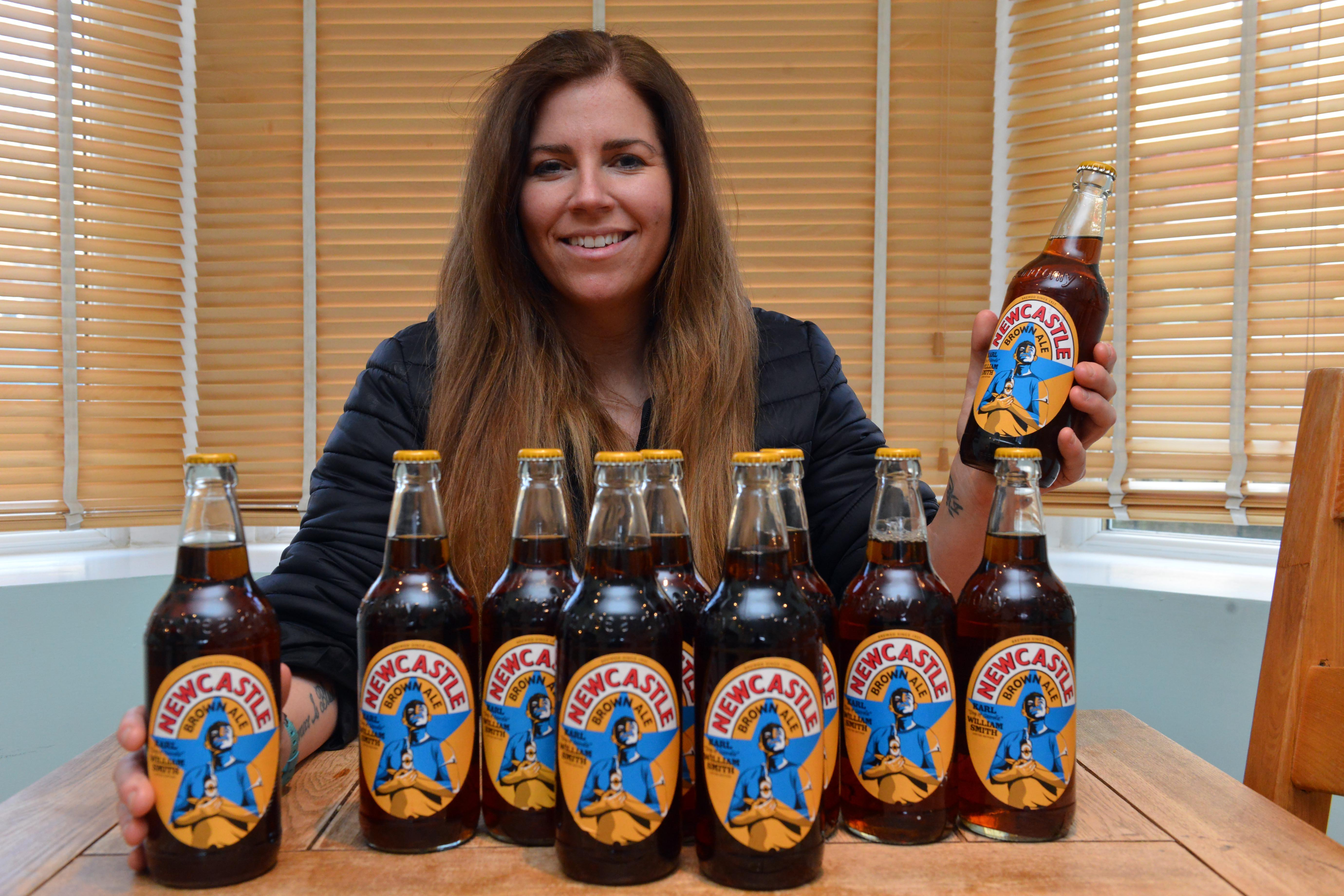 """""""don't Bottle It Up"""": Ex-soldier Using Limited Edition Newcastle Brown Ale Bottles To Raise Awareness Of Male Suicide photo"""