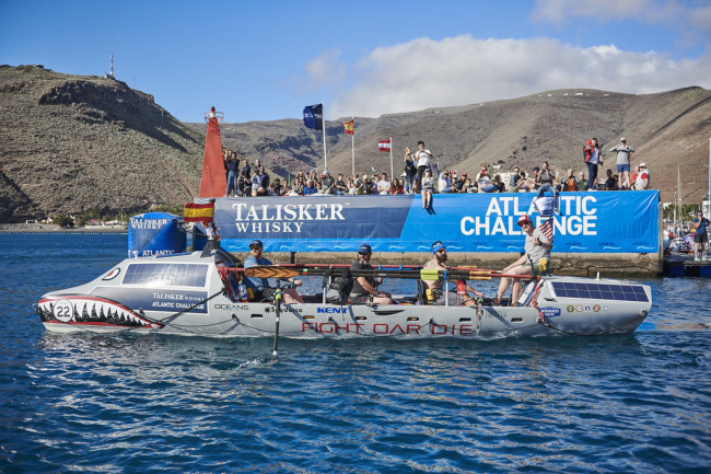 Fight Oar Die: Meet The Four Us Military Vets Rowing Across The Ocean In The Talisker Whisky Atlantic Challenge photo