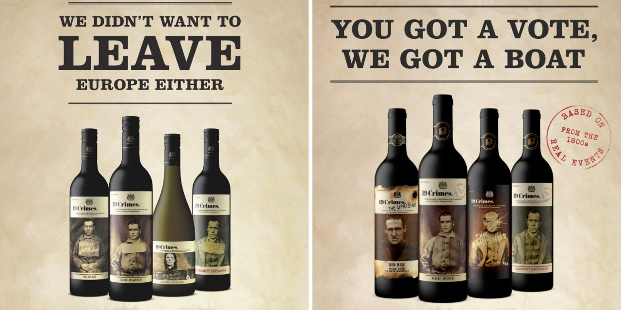 'we Didn?t Want To Leave Europe Either?: Australian Wine Brand Trendjacks Uk General Election photo