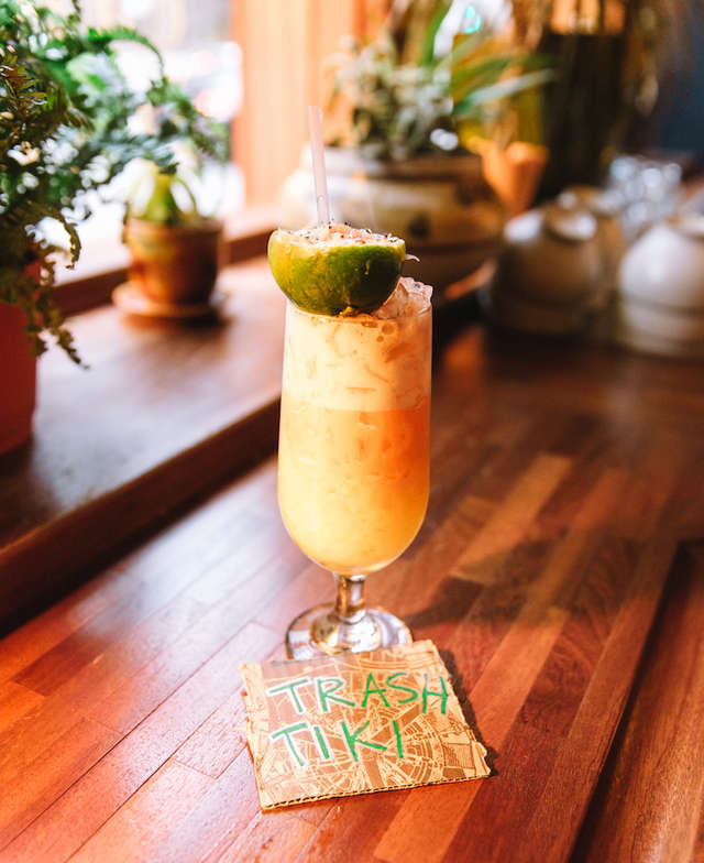 These Tiki Trash Cocktails Are Made From Garbage And Offer Zero-waste photo