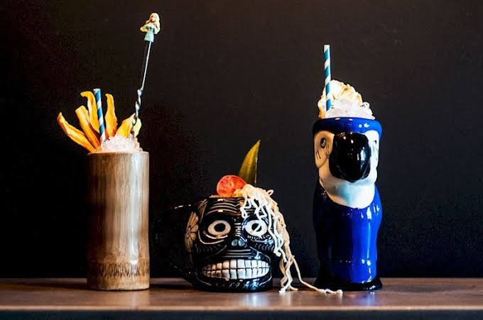 These Tiki Trash Cocktails Are Made From Garbage And Offer Zero waste