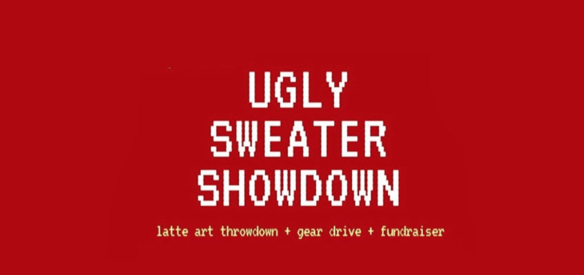 Durham: Come Party (and Give!) At Getchusomegear?s Ugly Sweater Showdown photo