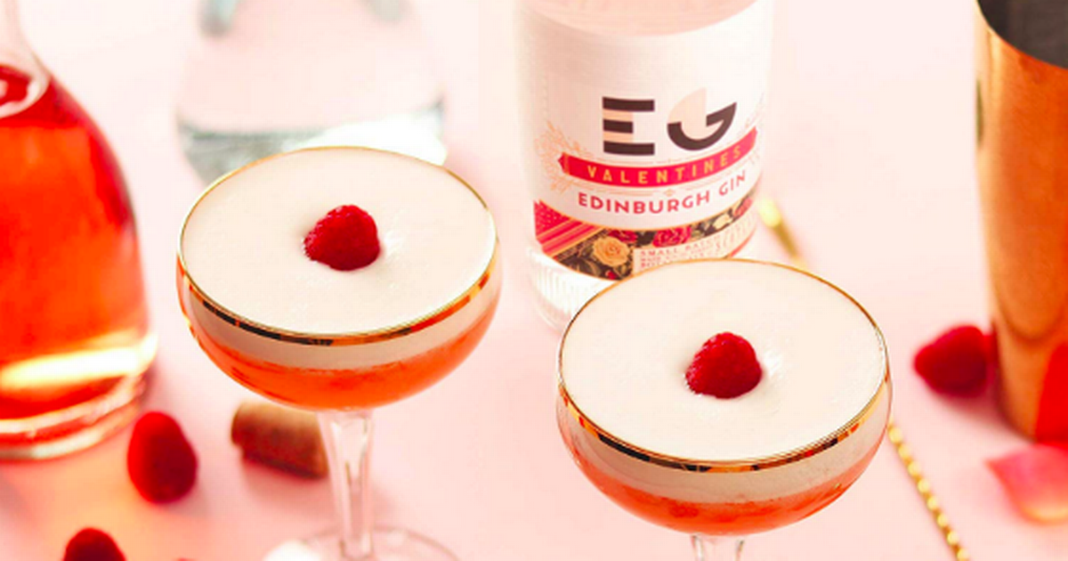 Amazon Is Offering Huge Discounts On Edinburgh Gin Ahead Of Valentine's Day photo