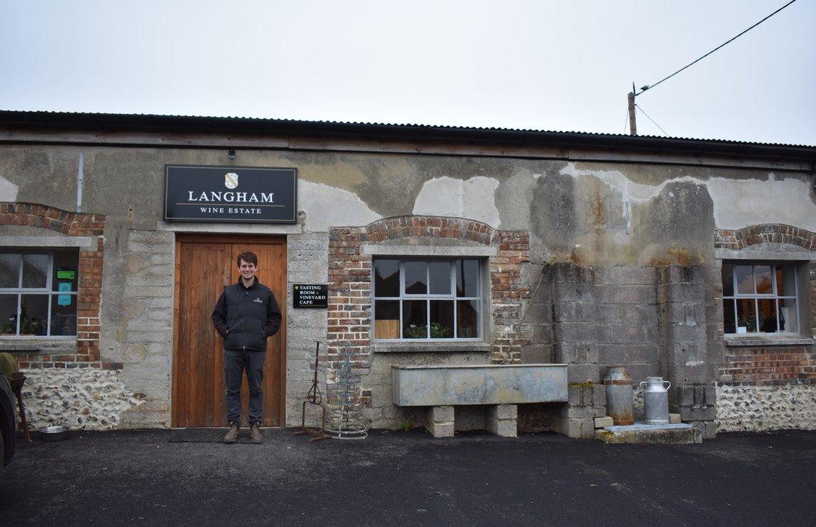 Meet The Maker: Tommy Grimshaw, Langham Wine Estate photo