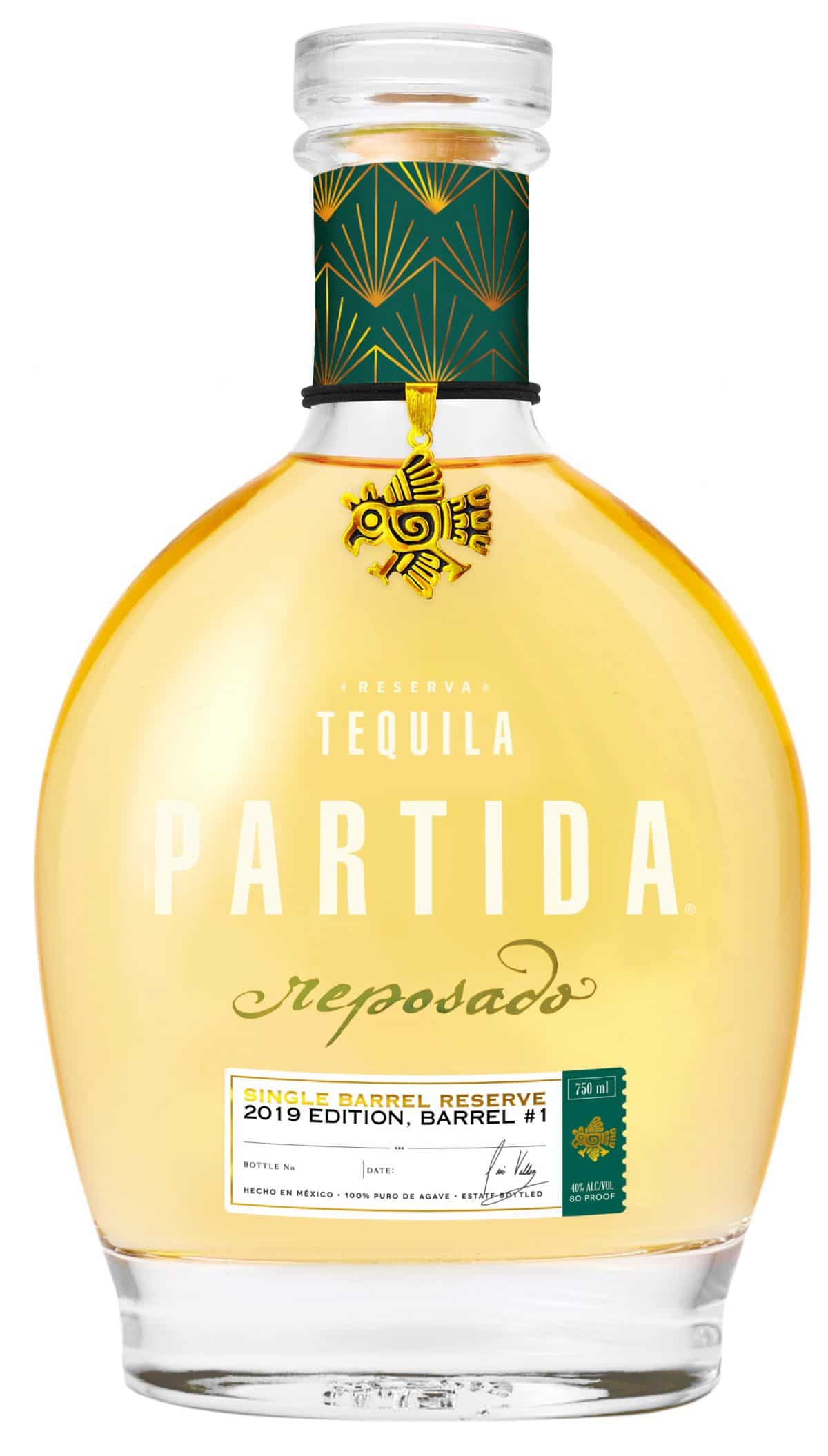 Tequila Partida Introduces First Nationally Available Limited-release Single Barrel Reserve Reposado photo