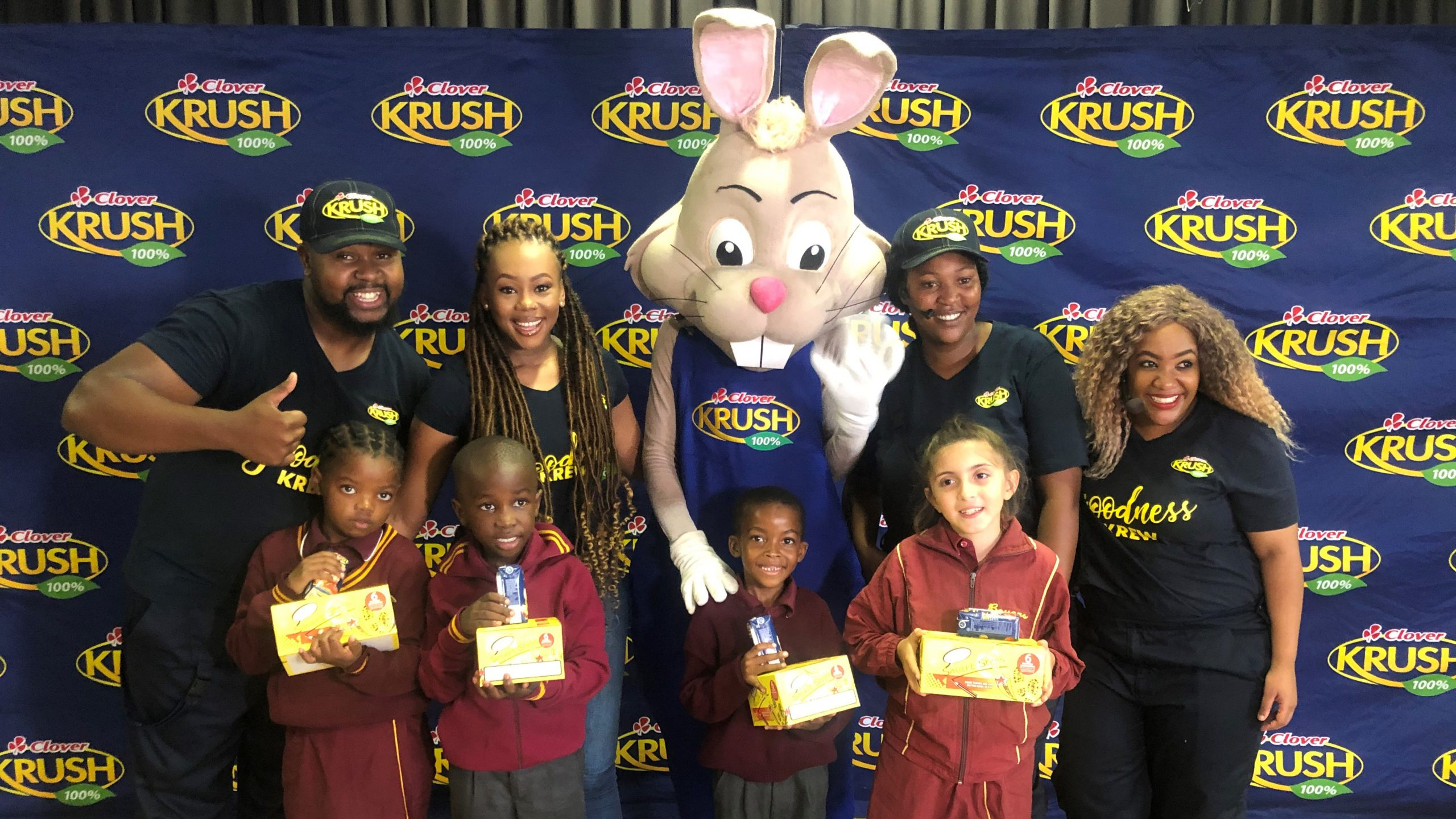 Clover Krush Donates Over 1 000 Shoes To School Learners photo