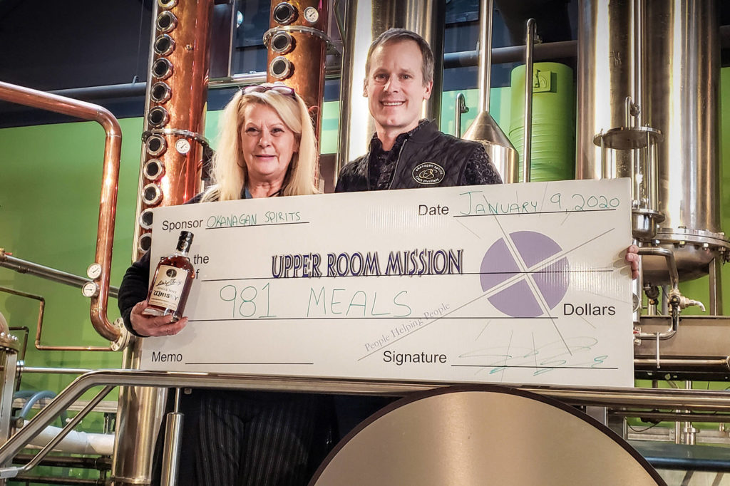 Vernon?s Okanagan Spirits Donates 981 Meals To Hungry photo