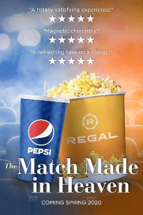 Pepsico Partners With Us Movie Theatre Operator Regal photo