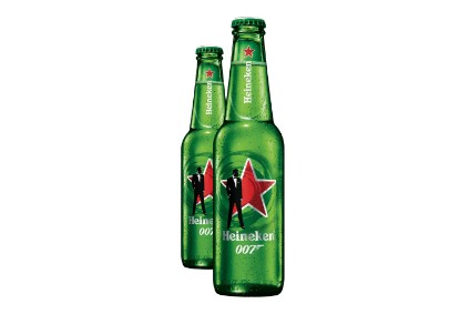 Heineken Lines Up James Bond Packs photo