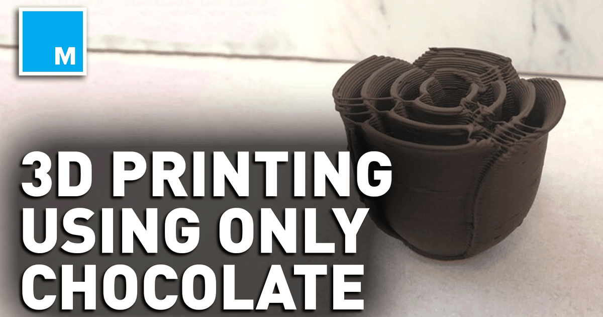 Chocolate Lovers May Fall In Love With This 3d Printer — Future Blink photo