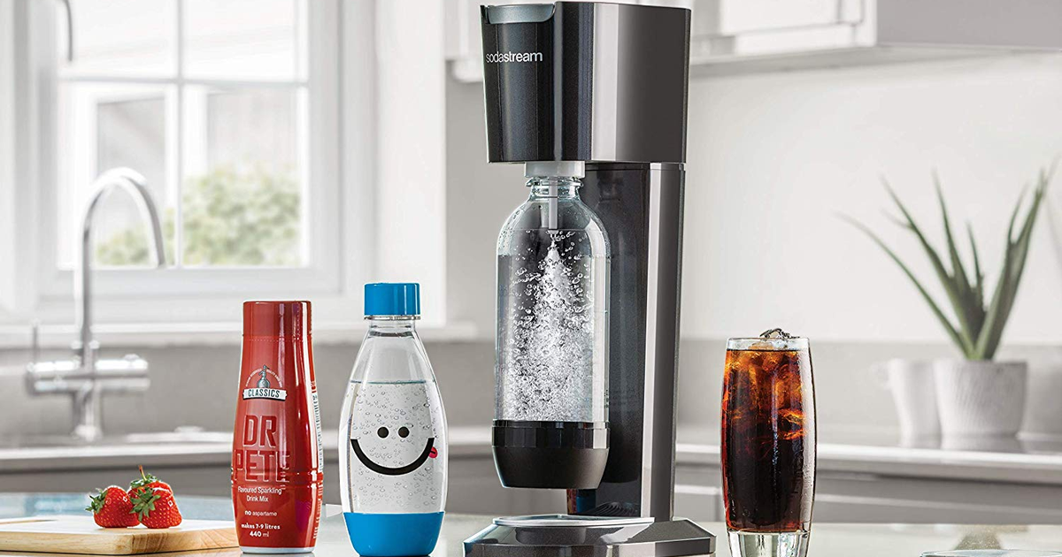 Add Some Sparkle With This Discounted Sodastream Bundle photo