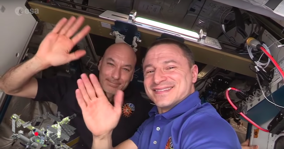 Take A Detailed Video Tour Of The International Space Station With Your New Space Dads photo