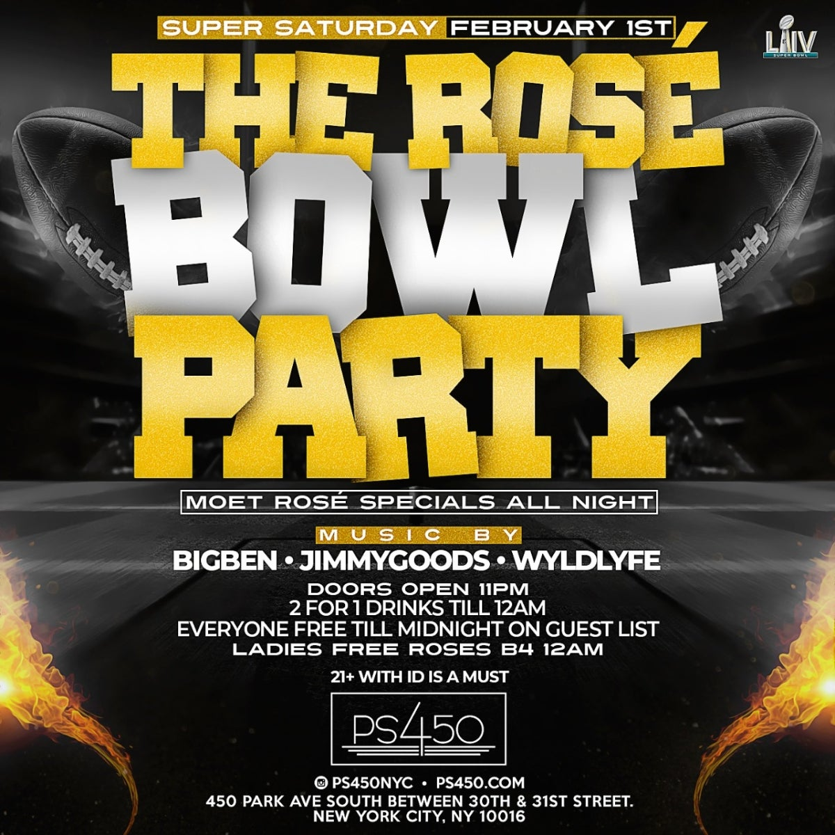 The Rose Bowl Party With Big Ben photo