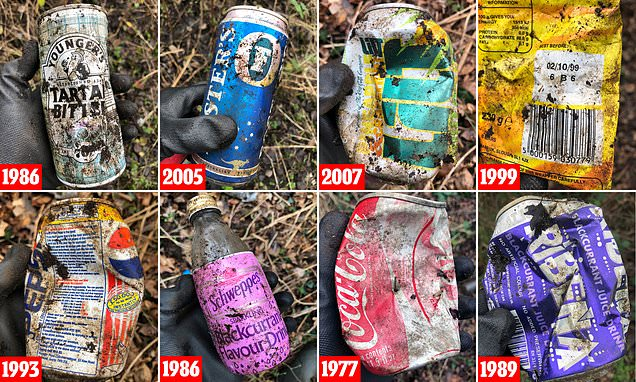 Litter-picker Finds Coca Cola Can Dating Back To 1977 photo