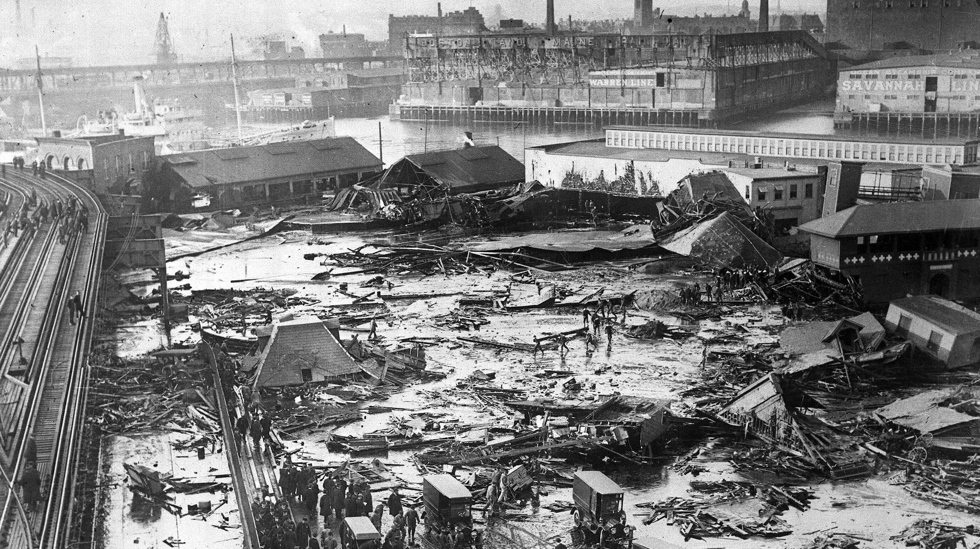 Remembering Boston's Great Molasses Flood Of 1919 photo