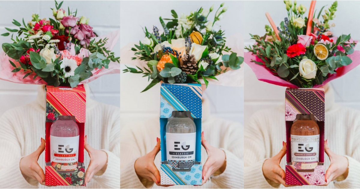?forget Chocolate, Valentine's Day Gin Bouquets Are The Future photo