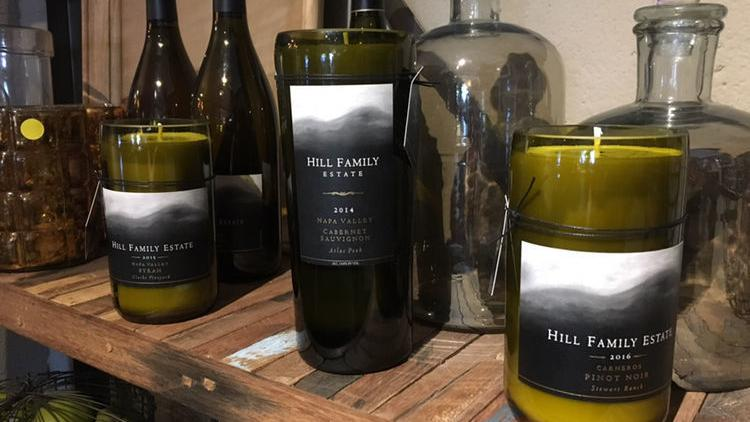 Chris Rogalla Is A Member Of Napa's Wine Industry. He's A Candlemaker. photo