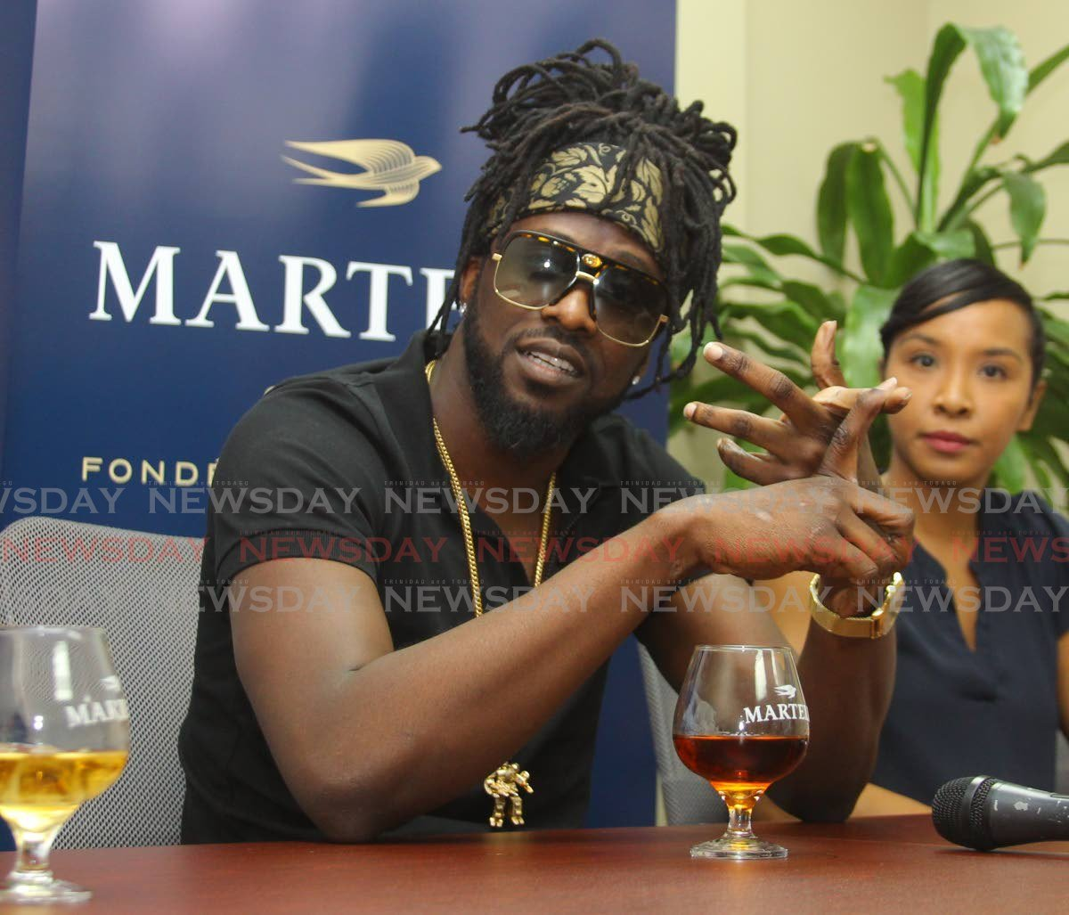 "Skinny Fabulous Joins Martell ""famalay"" photo"