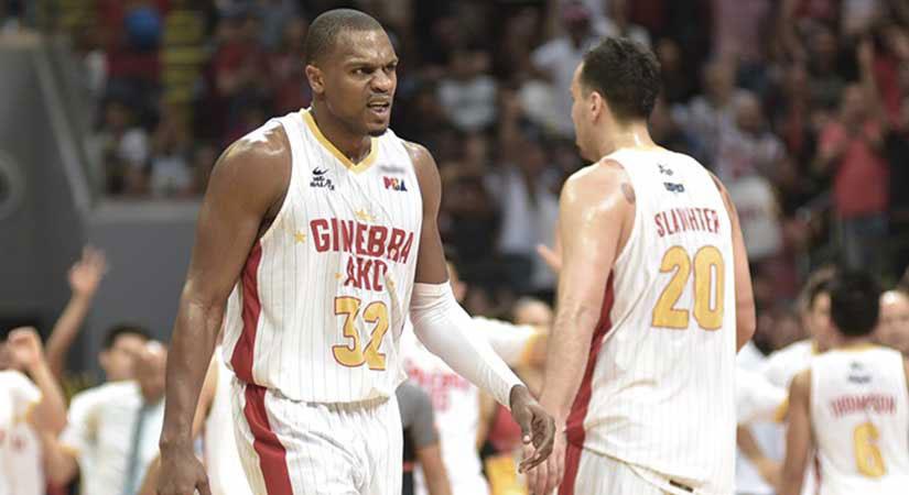 Barangay Ginebra Goes For Dominant 3-1 Lead Vs Meralco photo