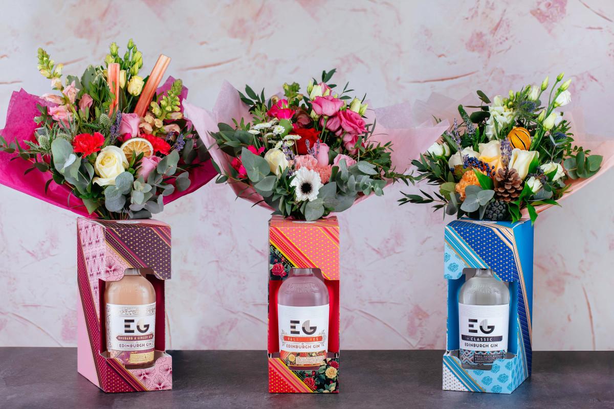 Edinburgh Gin Get Into Valentine's Spirit With Stunning Botanical Bouquets photo