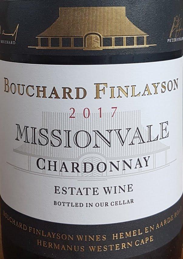 Bouchard Finlayson Missionvale Chardonnay 2017 photo