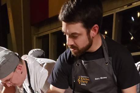 Nova Scotia Chef Going For Gold With Sturgeon Belly Dish photo