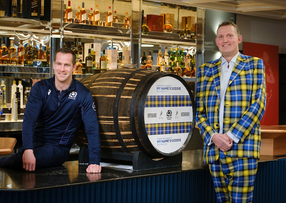 Diageo Rolls Out The Barrel For Scottish Rugby Official Charity My Name?5 Doddie Foundation photo