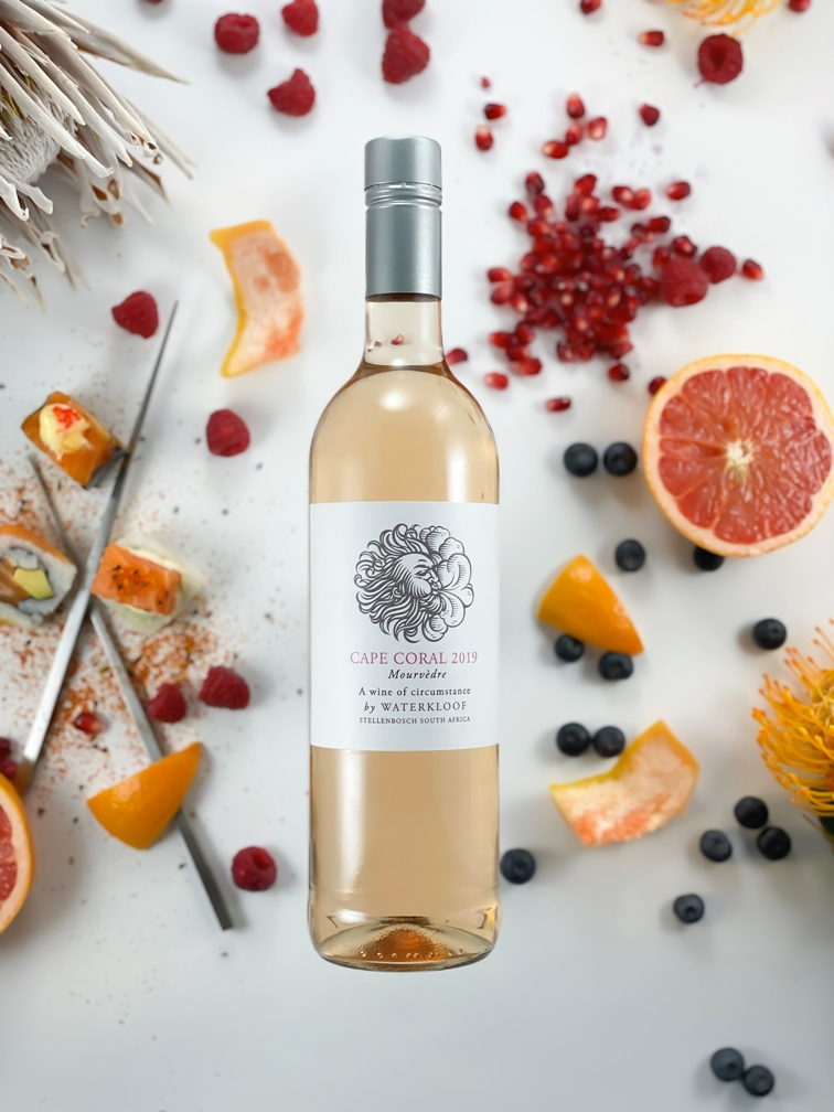 Waterkloof Unveils Its Charming Cape Coral 2019 Mourvèdre Rosé photo