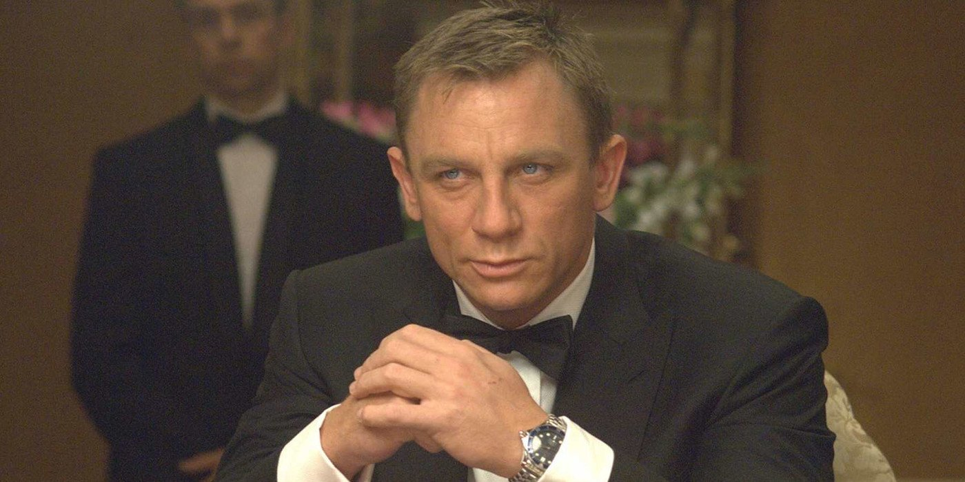 Daniel Craig?s 007 Drinks Non-alcoholic Beer In Bond 25 Commercial photo