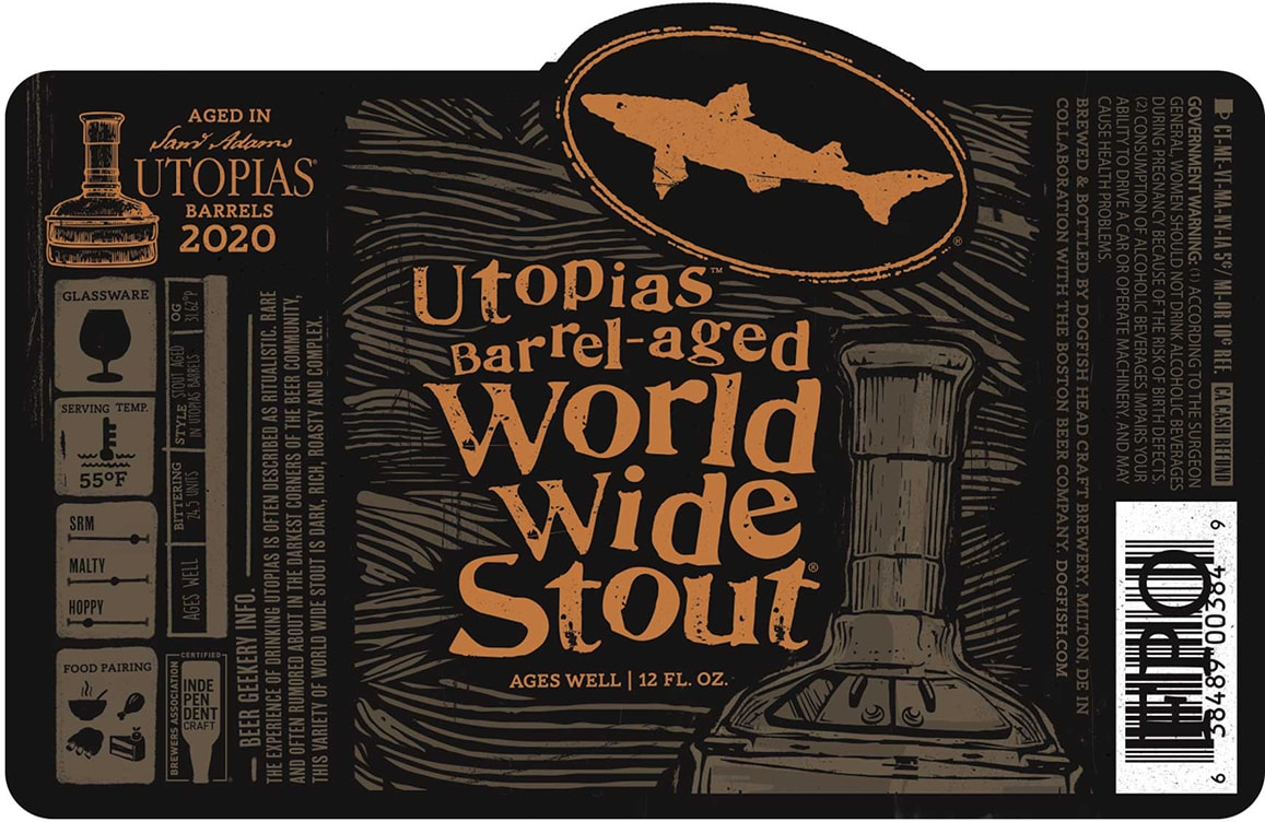 Dogfish Head Utopias Barrel-aged World Wide Stout Coming In 2020? photo