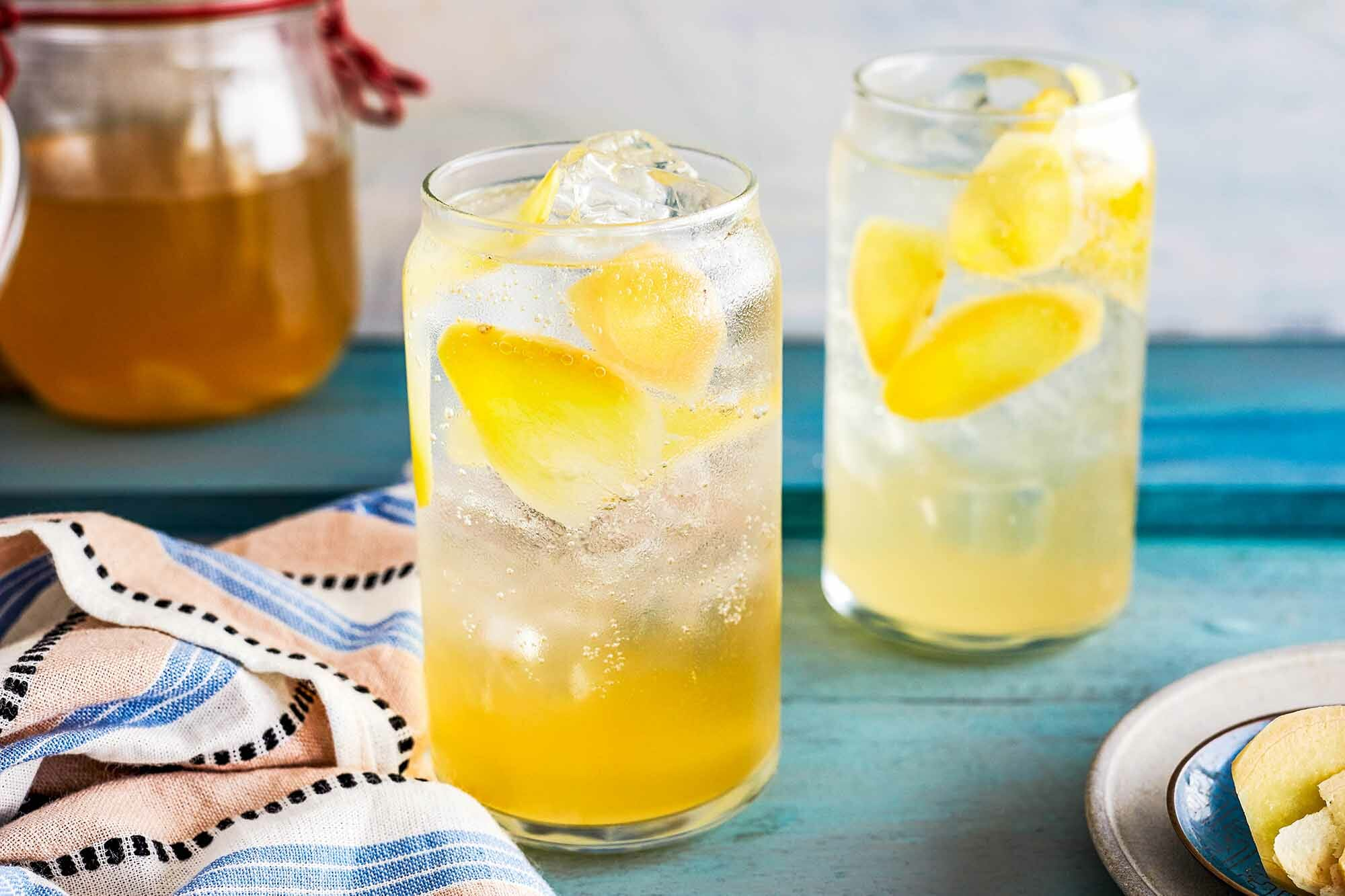 Ginger Switchel LEAD HORIZONTAL 3 Booze free Drinks To Help You Through Dry January