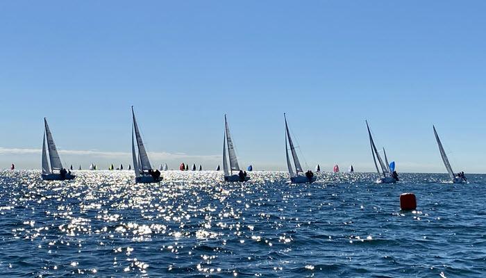 Weak Winds At Bacardi Winter Series #2 >> Scuttlebutt Sailing News photo