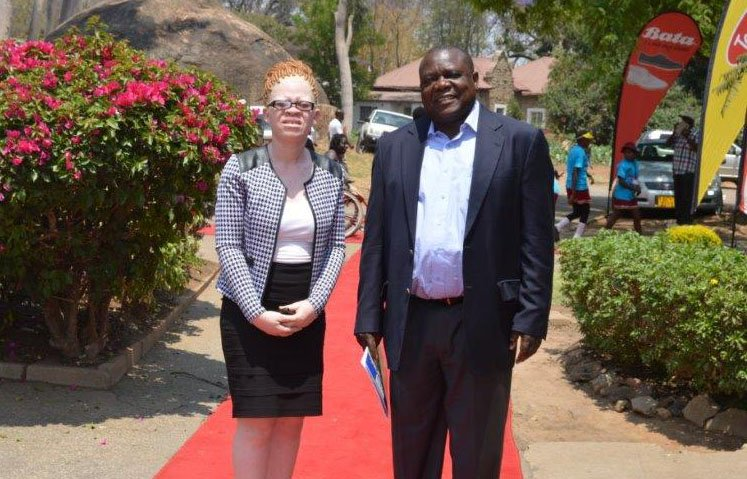 From Intern To Public Affairs Manager At Schweppes: The Inspiring Journey Of Judith Mbetu Living With Albinism In Zimbabwe ? Nehanda Radio photo