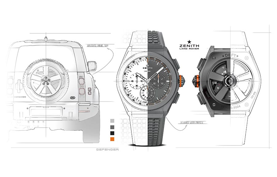 Land Rover And Zenith Create 'defy 21 Edition' Watch To Celebrate New Defender photo