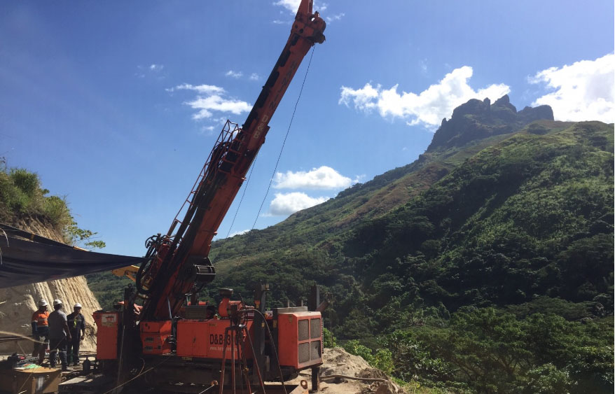 Deep Drill Hole At Fiji Gold Project Returns Significant Intersection photo