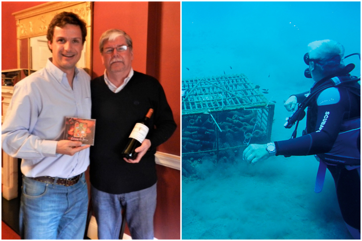 Wine Making In Chile?s Colchagua Valley And Submerging Wine In The Sea photo